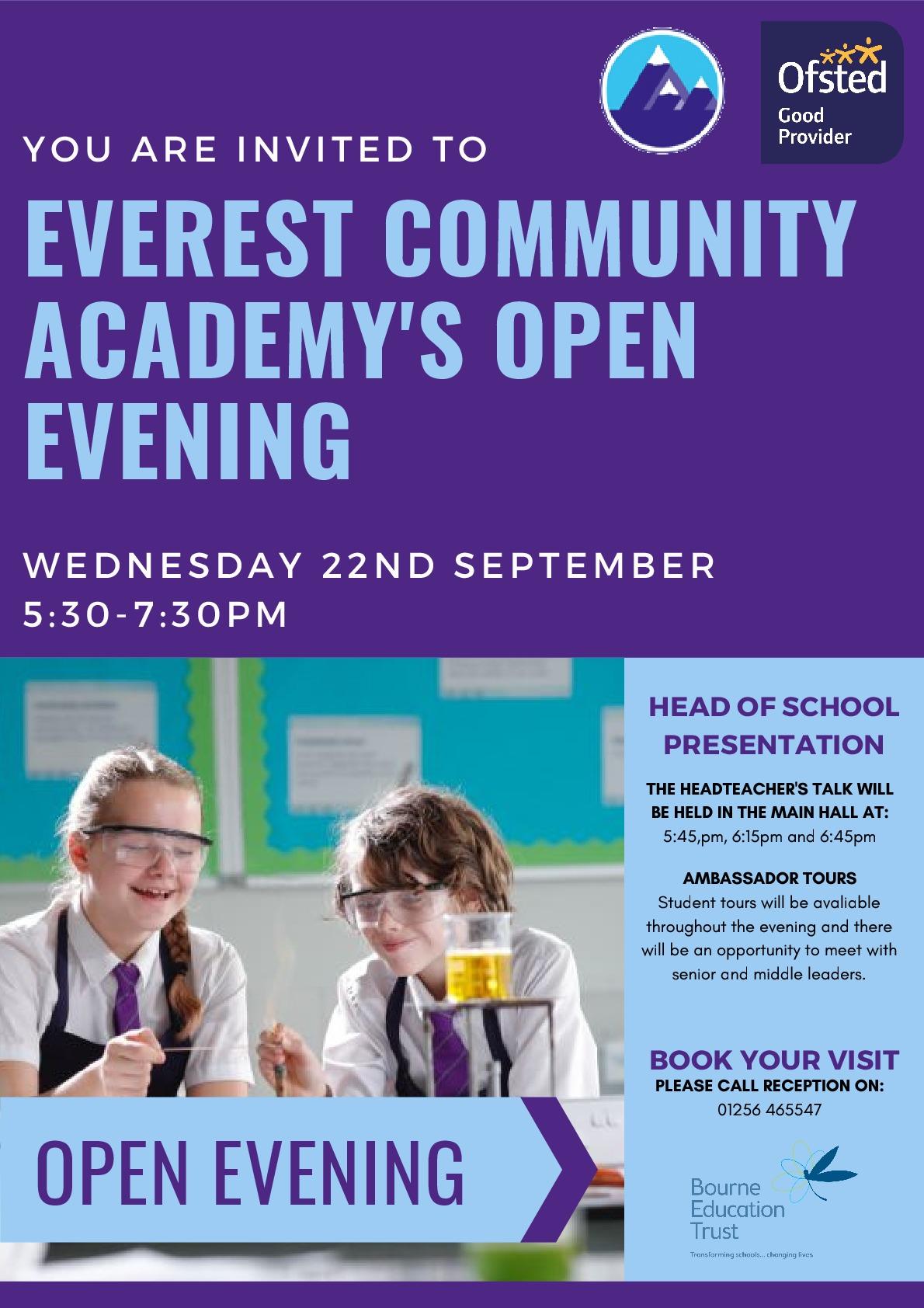 Open Evening Poster (2)