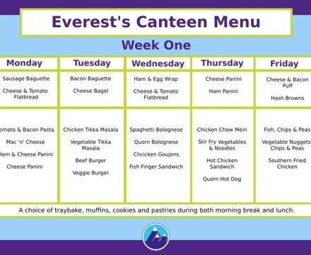 Canteen Week 1 1