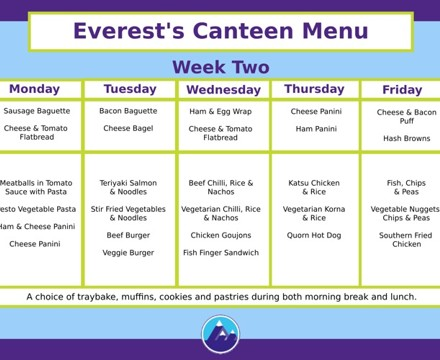 Canteen Week 2 1