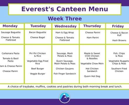 Canteen Week 3